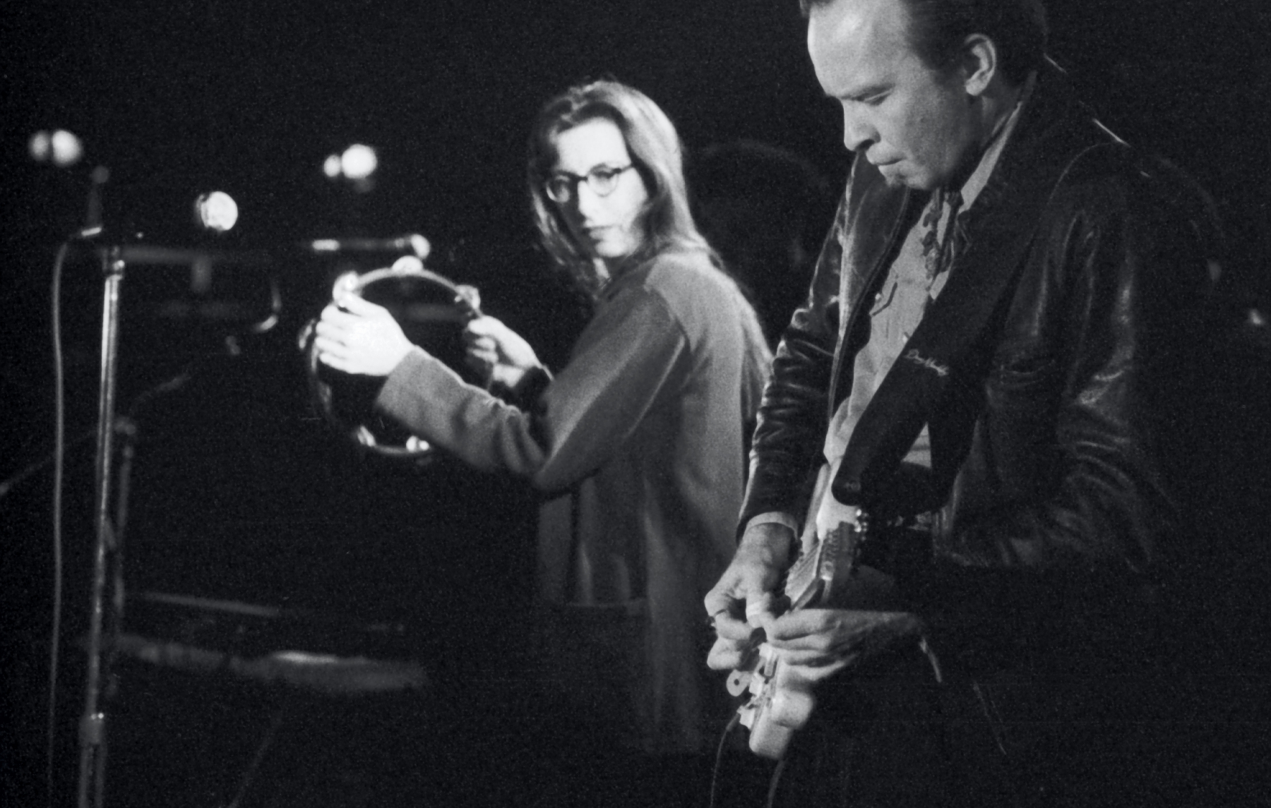 Syd Straw and Dave Alvin